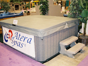 Chiller Spa with Grey Siding at AQUA Show 2005