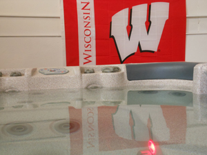 Wisconsin University Spa with Chiller